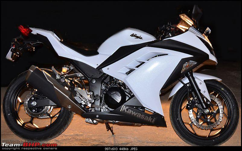 My Fair Lady : The Kawasaki Ninja 300 - Pearl Stardust White-dsc_0300.jpg