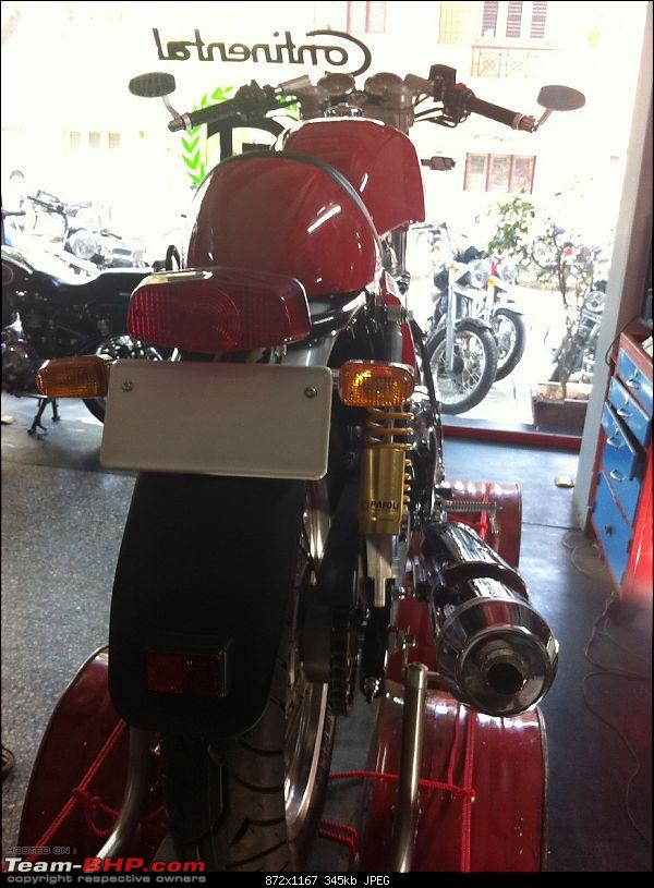 Royal Enfield Cafe Racer spotted testing. Edit: Now launched as Continental GT. Pg 10-img_3372.jpg