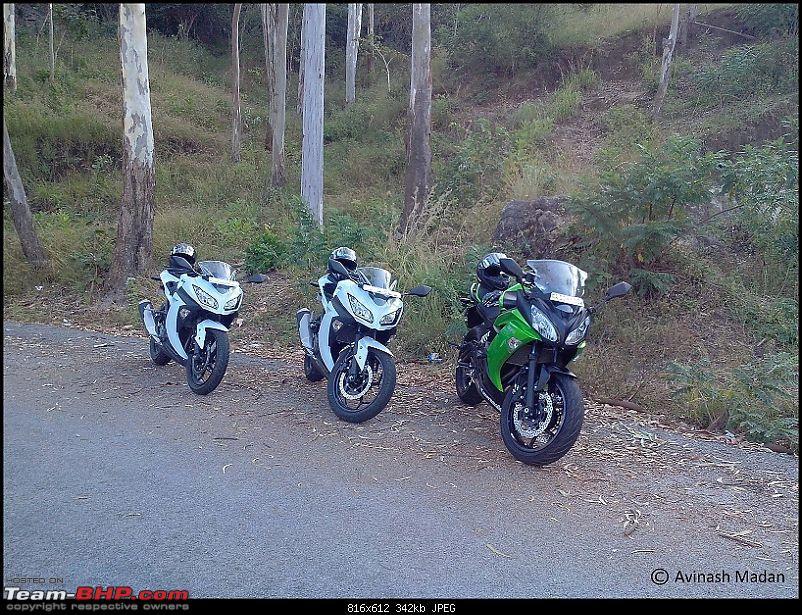My Fair Lady : The Kawasaki Ninja 300 - Pearl Stardust White-img_20131222_080756.jpg