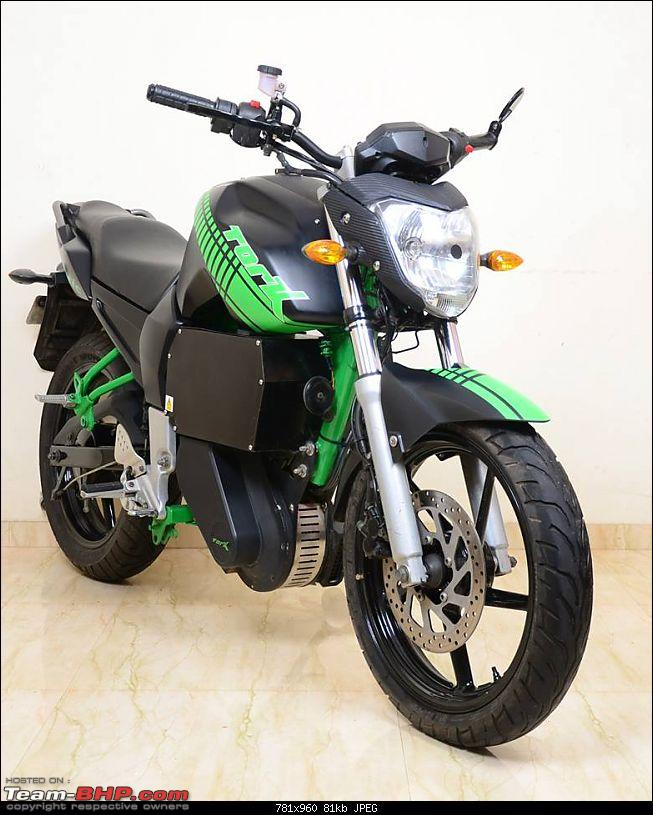 Tork India's FZ16 Electric motorcycle w/ 40 bhp - Will it change the way we commute?-1395934_10151655789896755_94956844_n.jpg