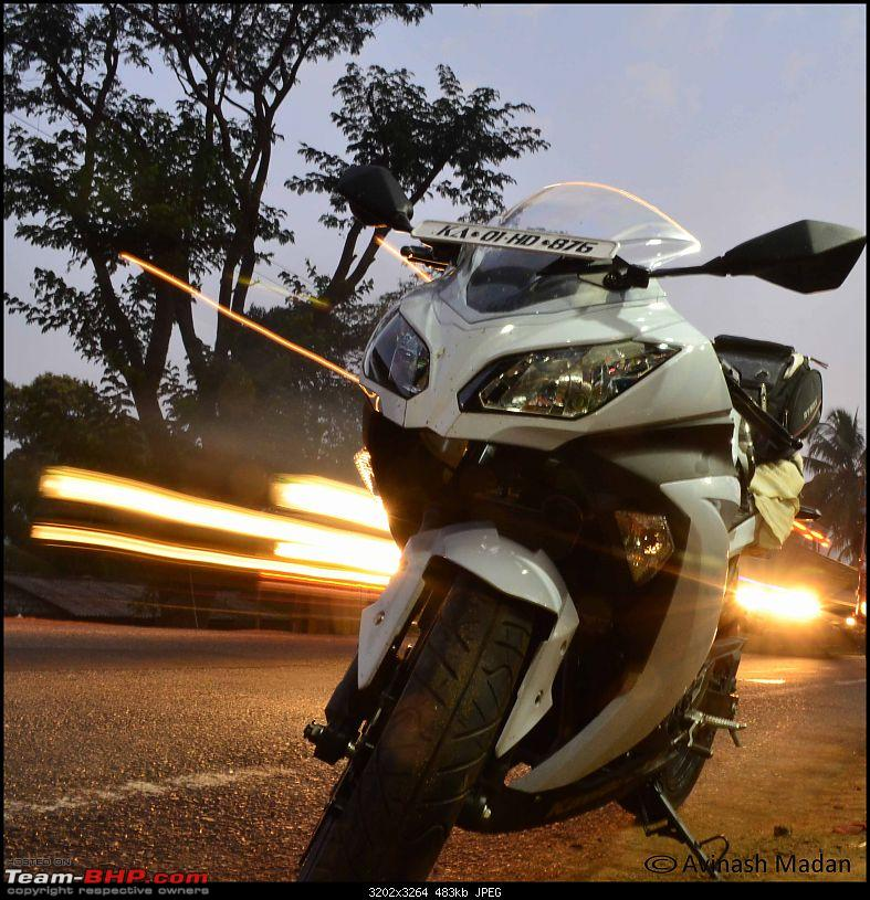 My Fair Lady : The Kawasaki Ninja 300 - Pearl Stardust White-dsc_01117.jpg