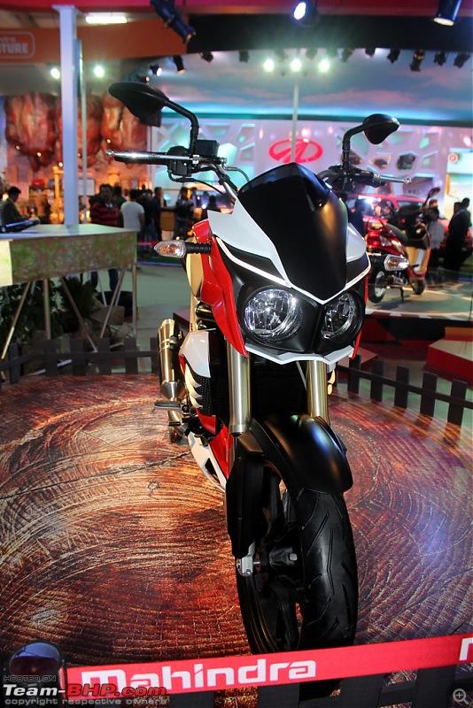 Mahindra Two Wheelers @ Auto Expo 2014-03img_3602.jpg