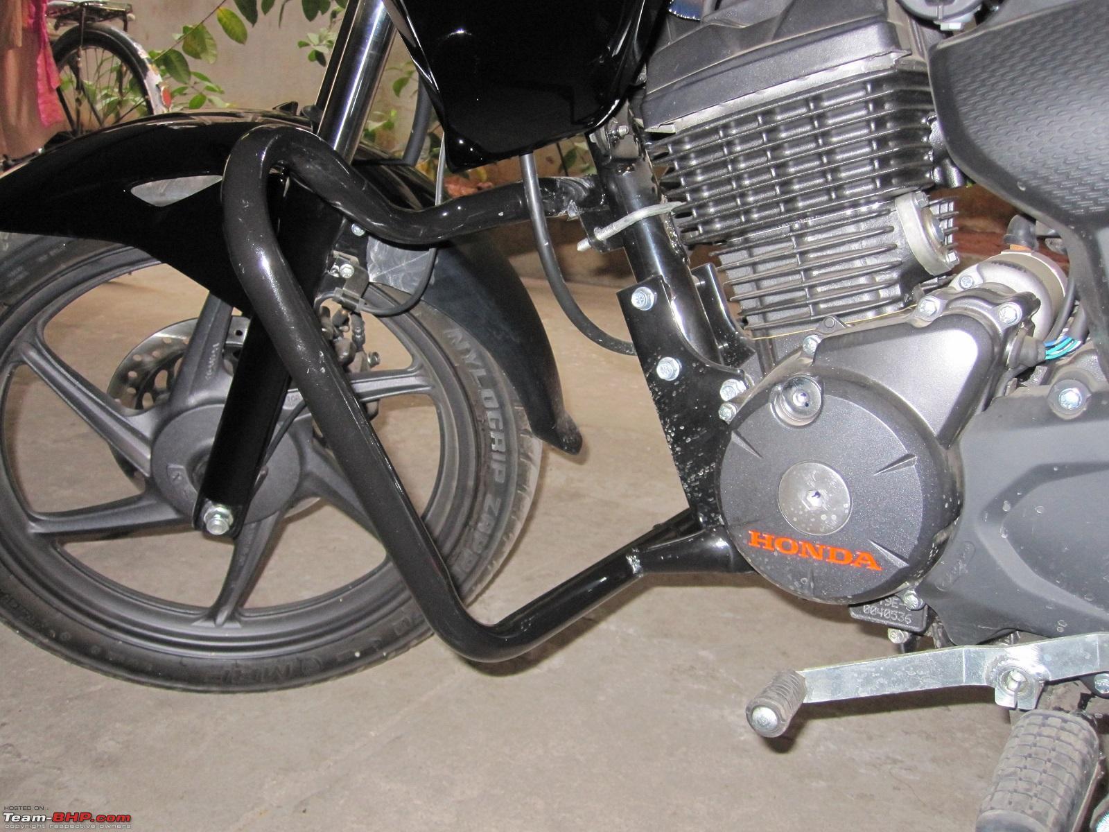 Knight In Black The Honda Cb Trigger Team Bhp