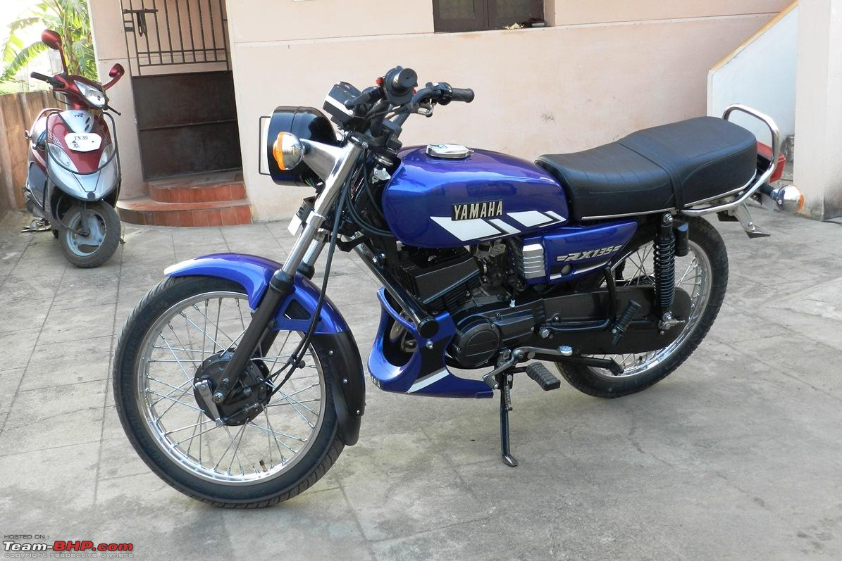 1998 yamaha rx135 restoration completed now 5 speed