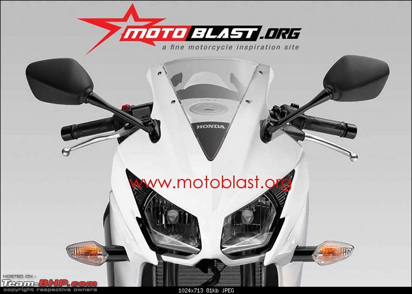 Honda CBR 150R coming to India. EDIT : Confirmed for 2012 March end-hondacbr150rrenderingfront.jpg