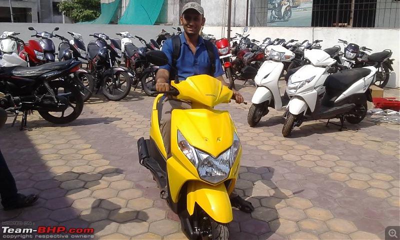 The story of my Honda Dio. EDIT: Horrible after sales!-uploadfromtaptalk1399185027857.jpg