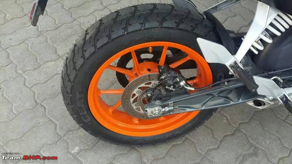the ktm duke 390 ownership experience thread - page 163 - team-bhp
