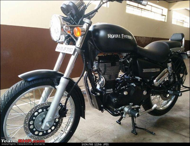 My foray into the biking world - Royal Enfield Thunderbird 500. EDIT: Charger DIY too-leftview.jpg