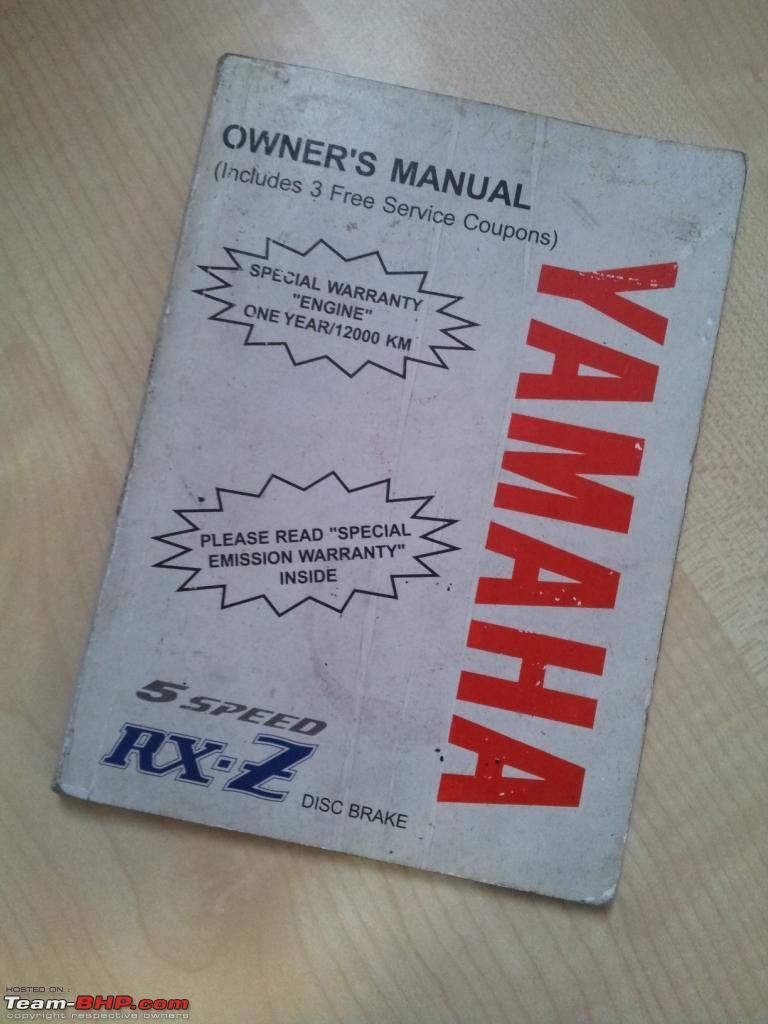 my 2002 yamaha rxz update now sold page 3 team bhp rh team bhp com Yamaha RXZ Catalyzer Gambar Motor Rxz