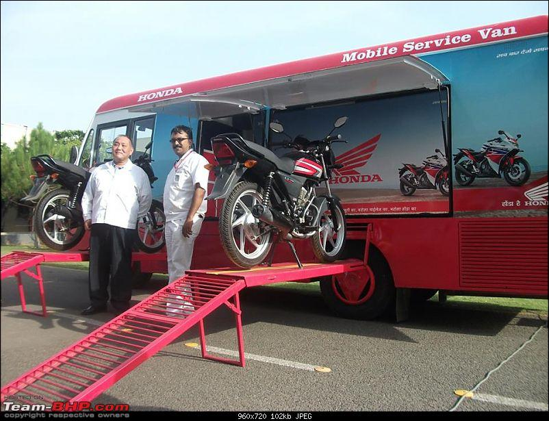 "Honda Motorcycles & Scooters launches ""Mobile Service Van""-10616682_10152362118026234_420106419985146946_n.jpg"