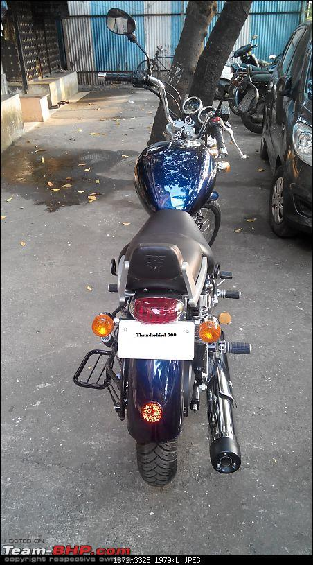 Undying hunger, my 5th Royal Enfield - The Thunderbird 500-20141007170758.jpg
