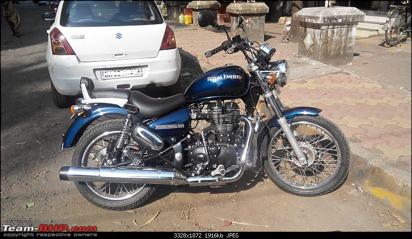 Undying hunger, my 5th Royal Enfield - The Thunderbird 500-20141012151757.jpg