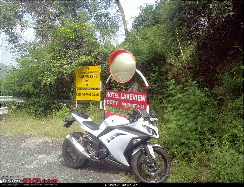 My Fair Lady : The Kawasaki Ninja 300 - Pearl Stardust White-img_20141122_115922.jpg