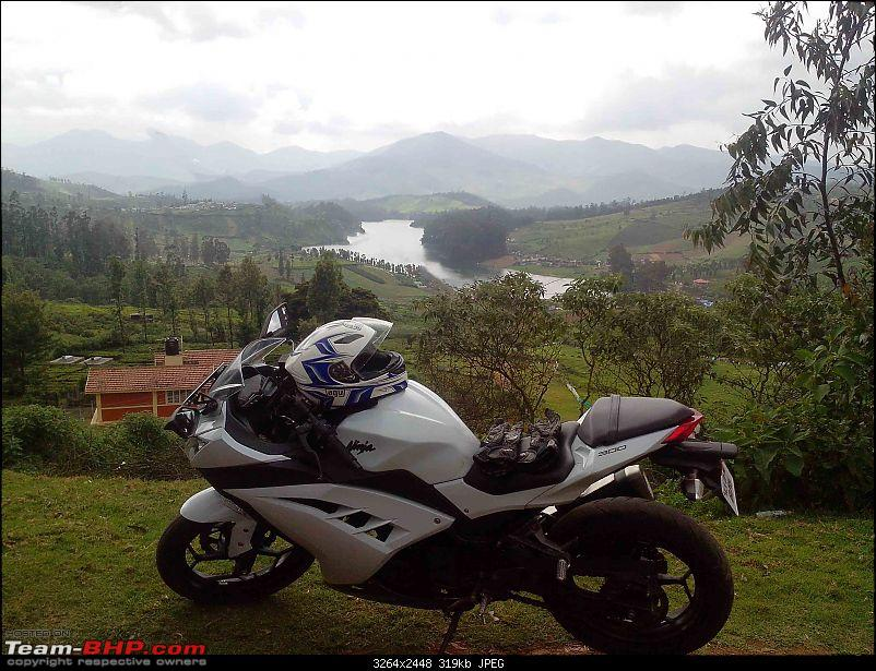 My Fair Lady : The Kawasaki Ninja 300 - Pearl Stardust White-img_20141122_134539.jpg