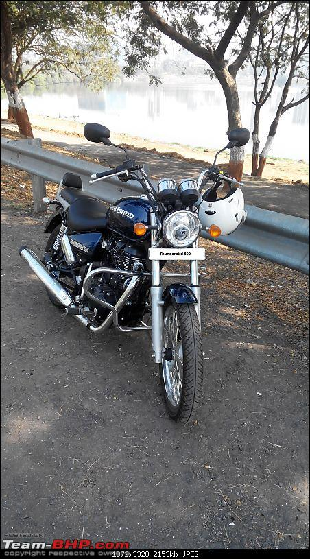 Undying hunger, my 5th Royal Enfield - The Thunderbird 500-20141221105618.jpg