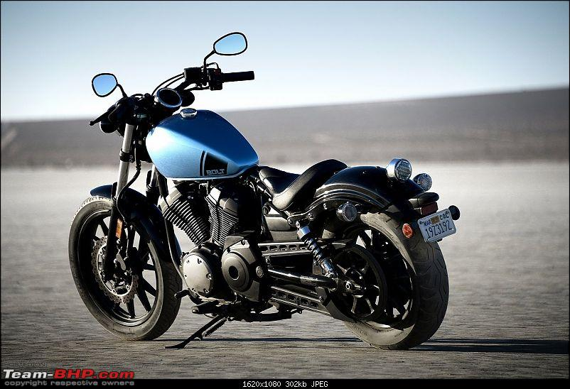 Entry-level Cruiser Motorcycles: Dearth of Japanese options-yamaha-star-bolt-2015.jpg