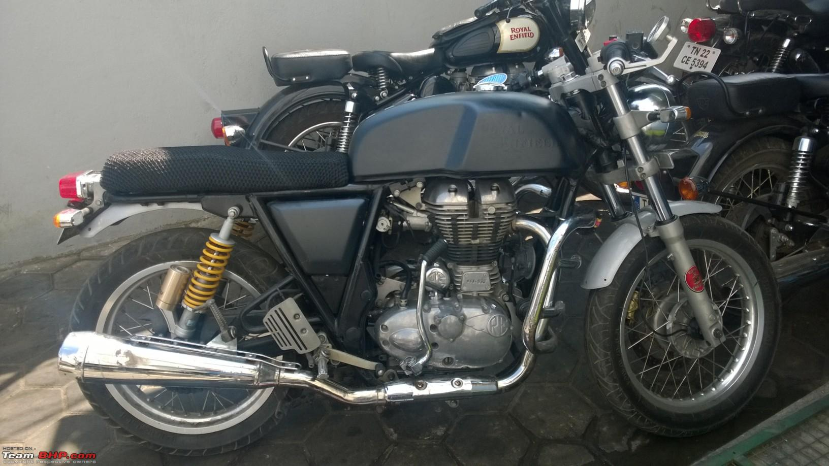 initial ownership review royal enfield continental gt page 5 team bhp. Black Bedroom Furniture Sets. Home Design Ideas