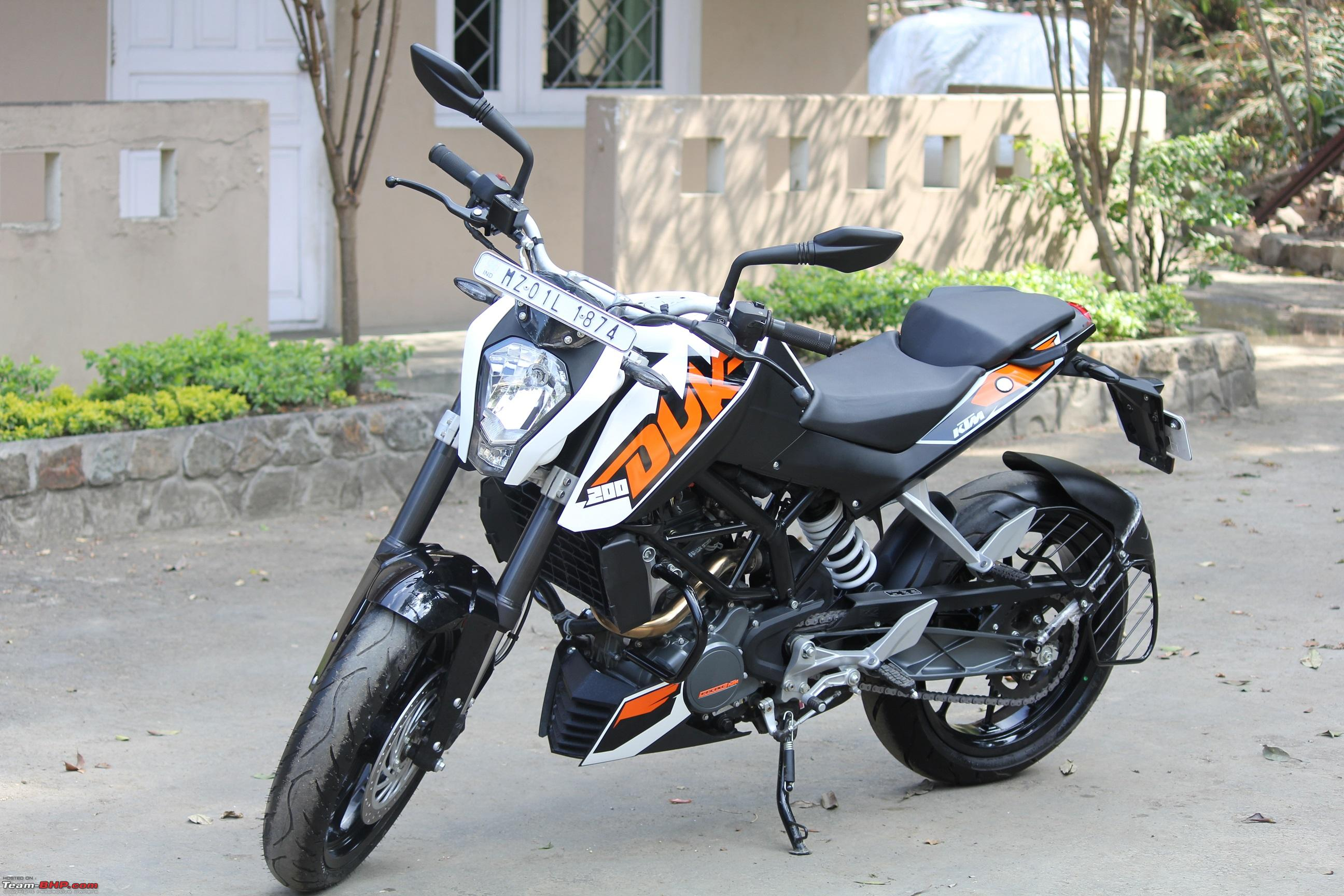 Review: KTM Duke 200 - Team-BHP