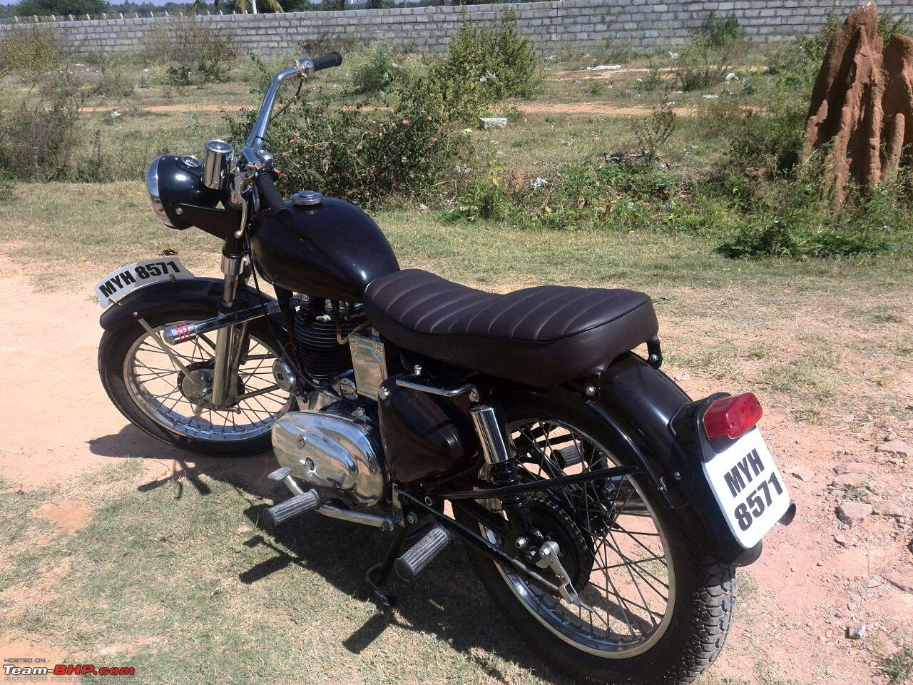 Reasonable charges or Royal loot? 1977 Enfield Standard 350