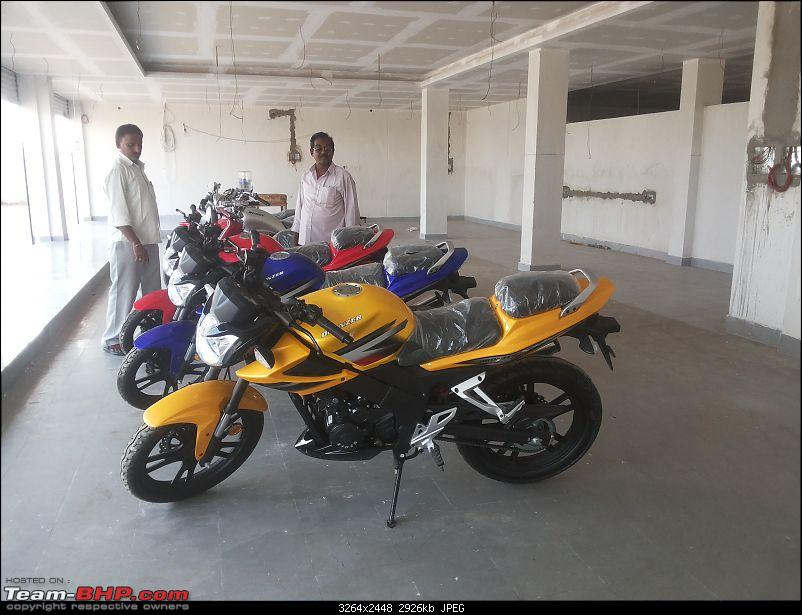 Eider Motors (Hyderabad) unveils 6 two-wheelers. EDIT: Chairman arrested over fraud!-20150323_153704.jpg