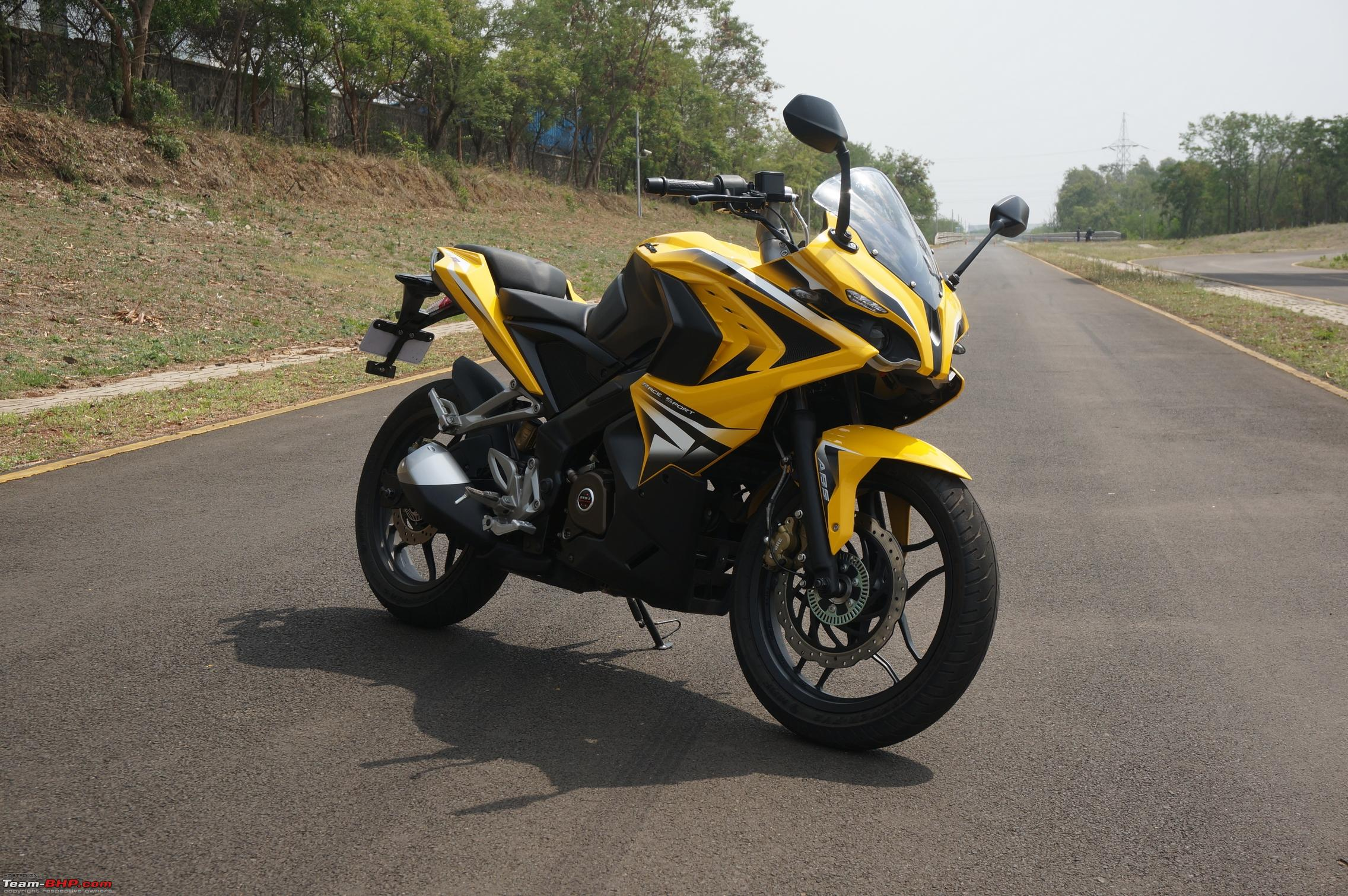 Report, Pics & Video: Bajaj Pulsar RS200 ridden at the factory test-track - Team-BHP