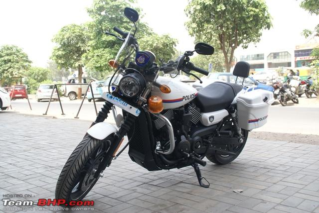 Name:  Customized HarleyDavidon Street 750 motorcycles for Gujrat Police Depar... 2.jpg