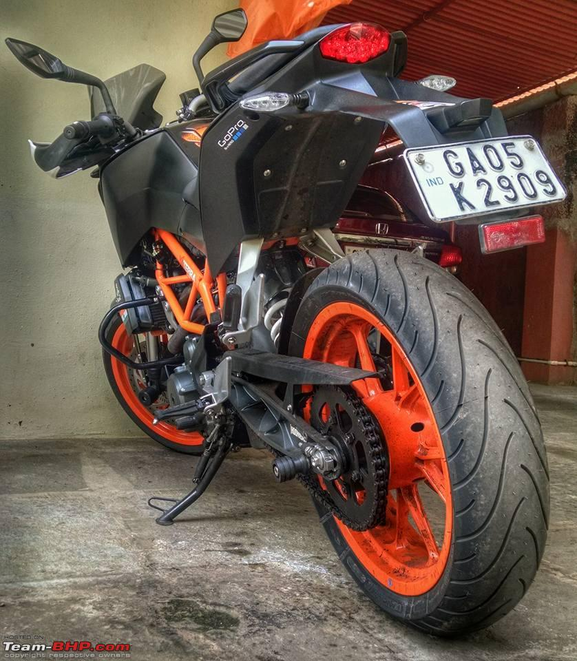 the ktm duke 390 ownership experience thread - page 299 - team-bhp