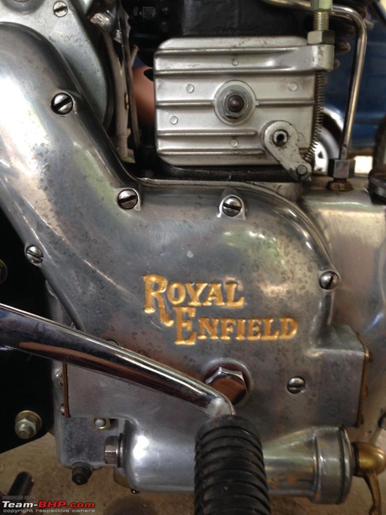 Royal Enfield Model G: The Rarest of Rare - Team-BHP