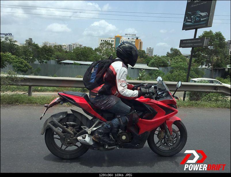 Rumour: Bajaj working on two new motorcycle brands-bajajpulsarrs400spied.jpg