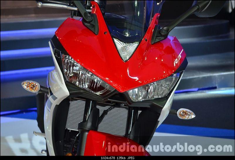 Yamaha YZF-R3 starts testing in India-yamahayzfr3headlightat2015bangkokmotorshow1024x678.jpg