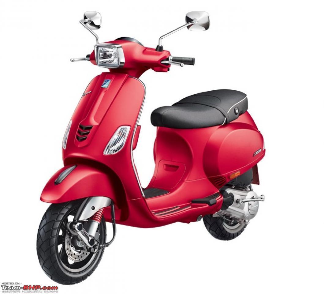 Vespa launches 150cc scooters - SXL & VXL