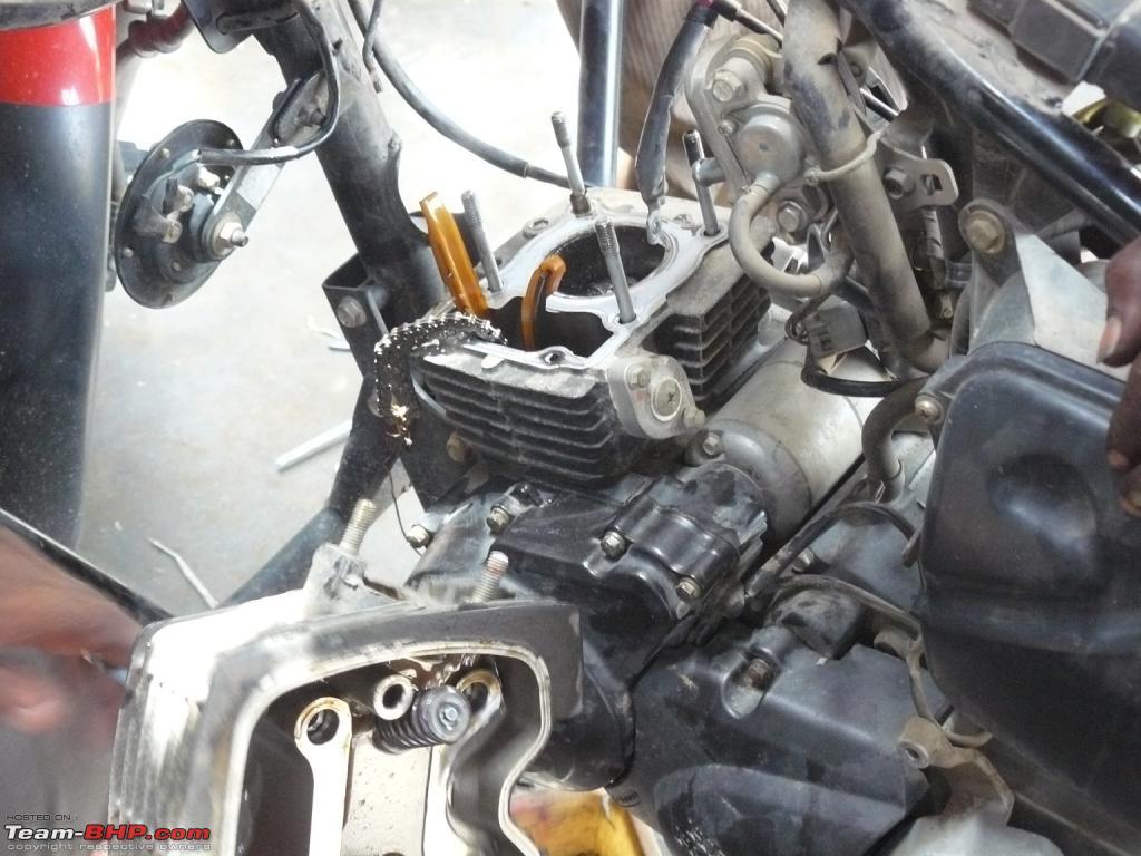 CBZ Xtreme's Piston into Pieces - Team-BHP