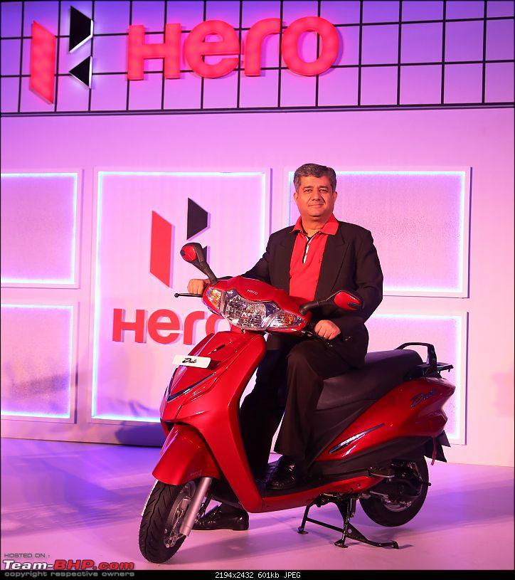 Hero Duet scooter spotted at dealership ahead of launch. EDIT: Now launched at Rs. 48,400-pi5.jpg