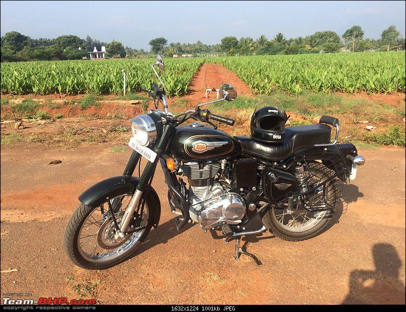 PAPS, my Enfield Bullet 500 (Forest Green) - Selection, purchase & review-farm.jpg