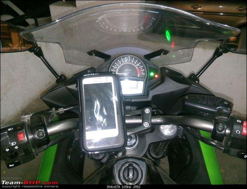 """Review: Rynox 5.5"""" Cellphone Mount for Motorcycles-img_20151115_115214.jpg"""