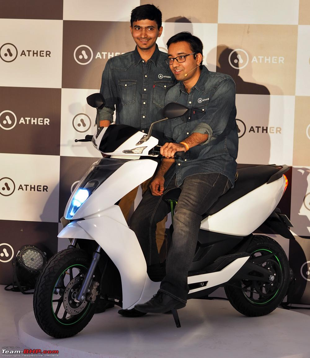 Ather Energy Unveils The S340 Electric Scooter Team Bhp