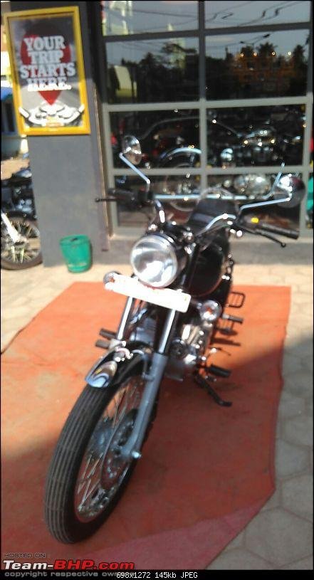 Electrified! My Royal Enfield Electra-frontshowroom.jpg
