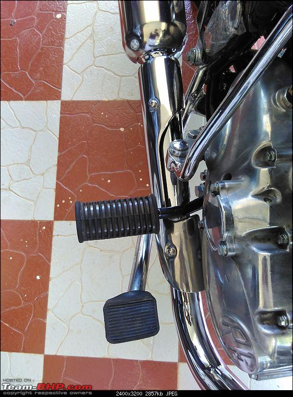 Electrified! My Royal Enfield Electra-rear-brakes.jpg