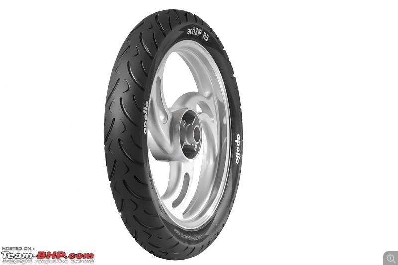 Apollo Tyres enters 2-wheeler tyre market in India-apollo-actizip-r3.jpg