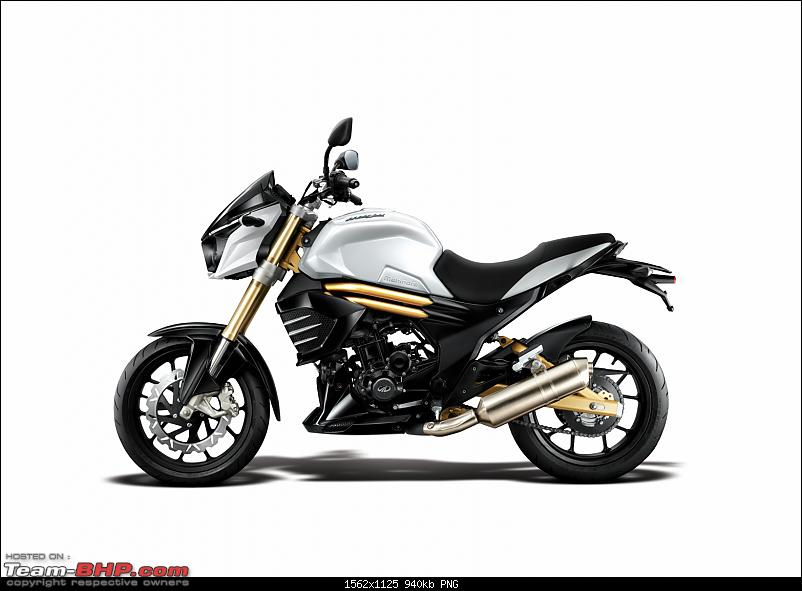 PIC : Mahindra's Mojo 300cc caught testing near Pune. EDIT: Now Launched-mahindramojopic02.png
