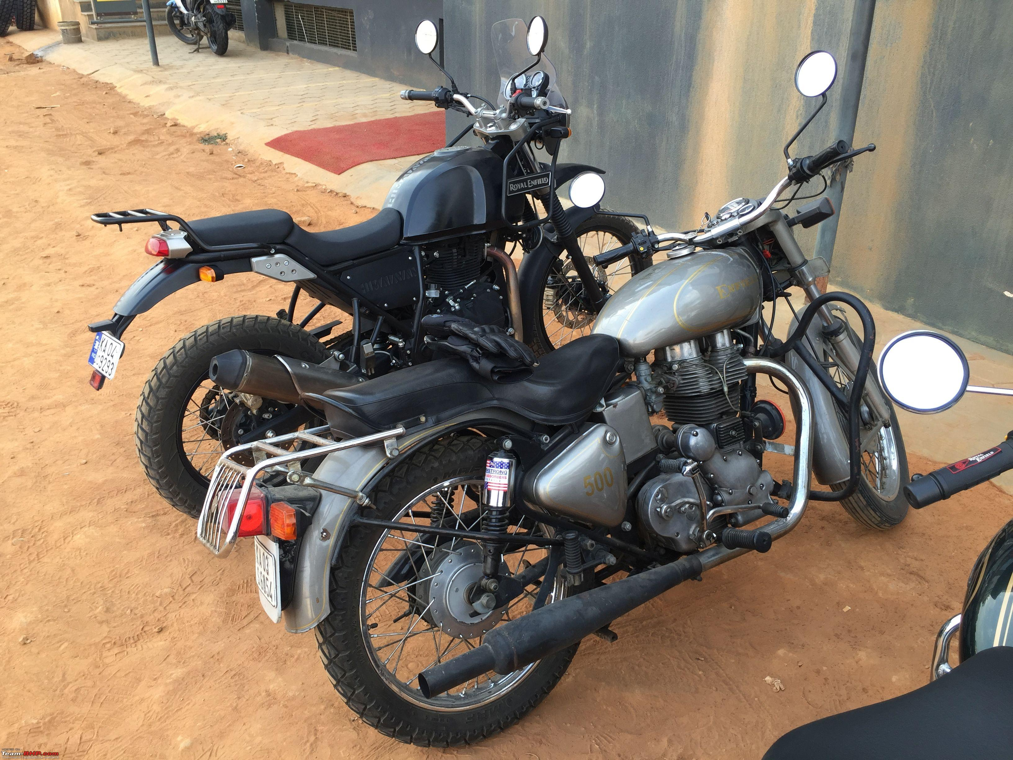 the royal enfield himalayan test ride thread page 8 team bhp. Black Bedroom Furniture Sets. Home Design Ideas