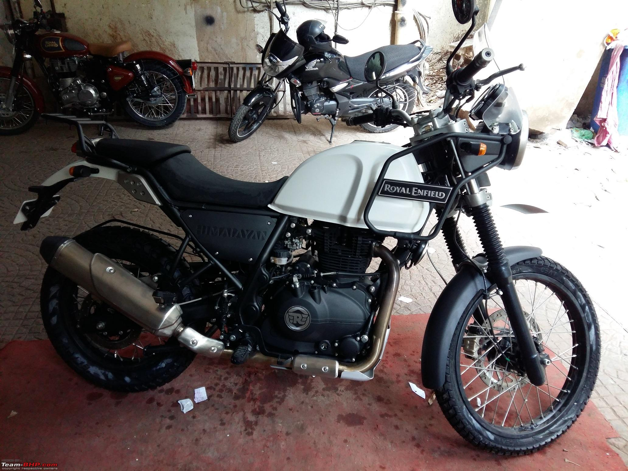 My Royal Enfield Himalayan Snow White Page 4 Team Bhp
