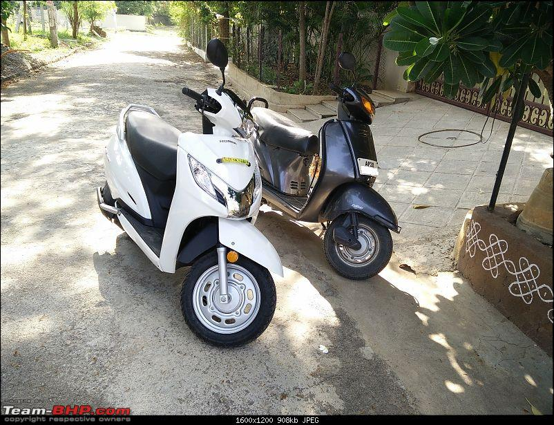 Review: Honda Activa 125 (Pearl Amazing White)-3.-old-vs-new-front.jpg