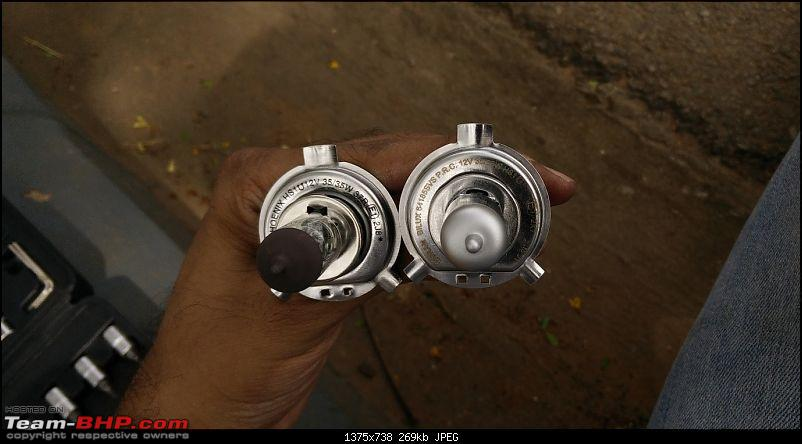 Honda Activa DIY: Headlight upgrade and LEDs for indicators + tail lamps-7.-halonix-vs-silverstar.jpg
