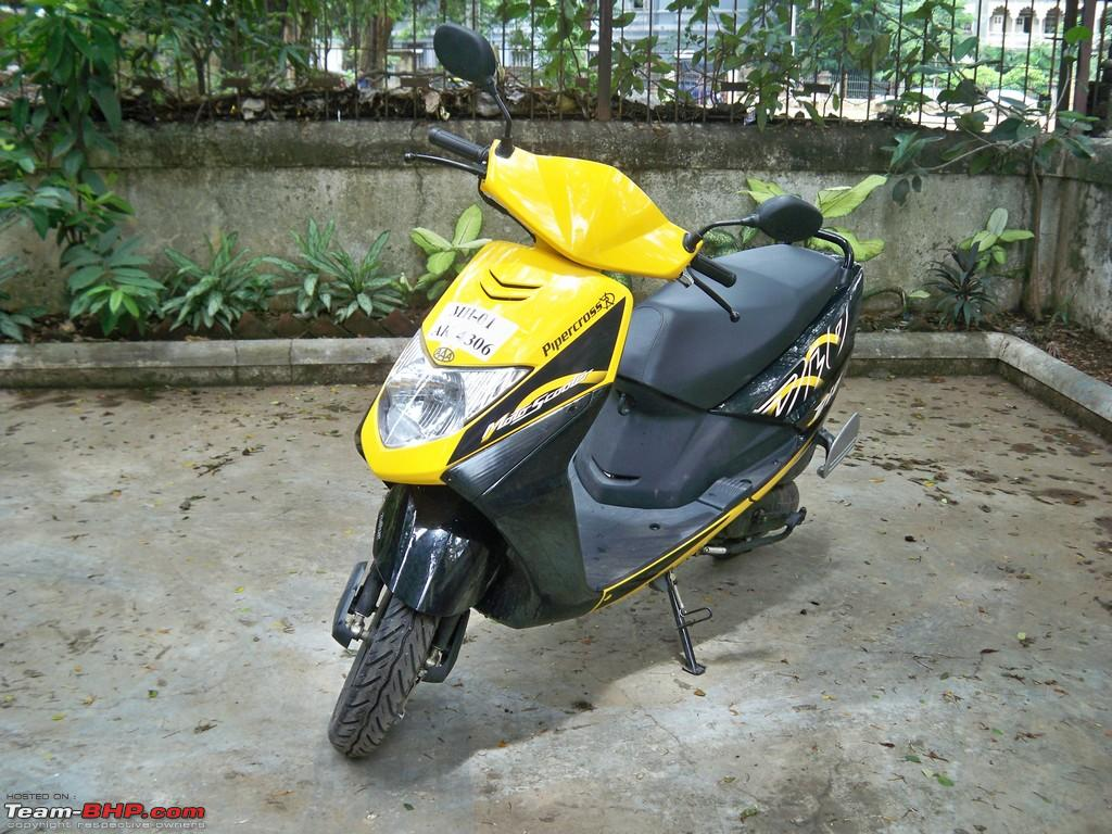Bike stickers design for dio - My Honda Dio My Very Own Bumblebee Now With Carbon Fiber