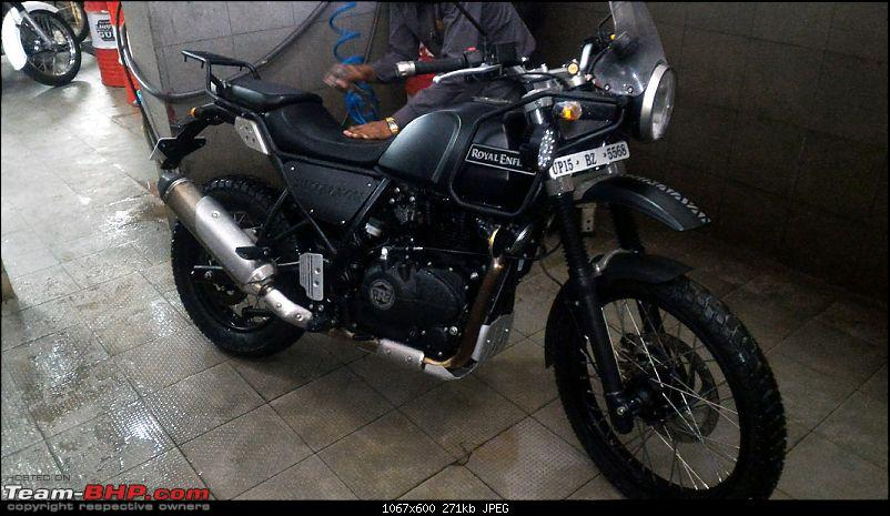 Royal Enfield Himalayan - Comprehensive Review of the 'Desi' Adventure Tourer-oil-leak-repaired-18072016-842kms_1.jpg