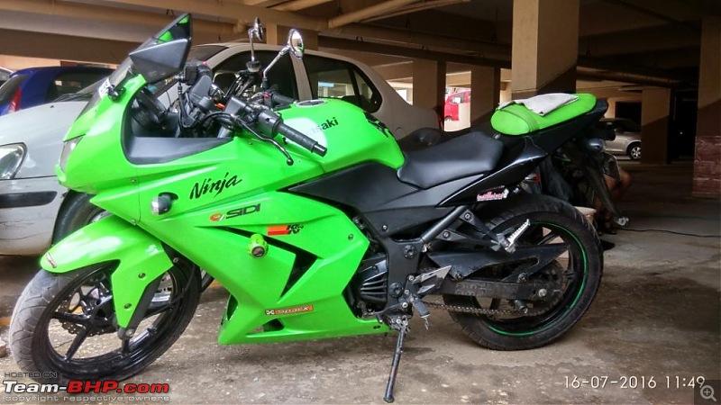 2010 Kawasaki Ninja 250R - My First Sportsbike. 52,000 kms on the clock. UPDATE: Sold!-img_20160716_114927_hdr.jpg