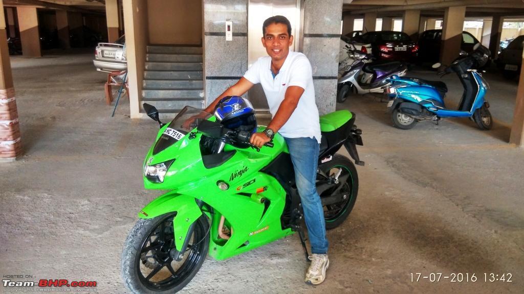 2010 Kawasaki Ninja 250R - My First Sportsbike  52,000 kms