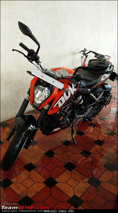 From XUV500 to Ertiga to Avenger to KTM Duke 200! How I fell in love with Orange-23.jpg
