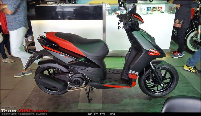 Aprilia SR 150 unveiled at the Auto Expo. EDIT: Priced at Rs. 65,000-img20160814wa0014.jpg